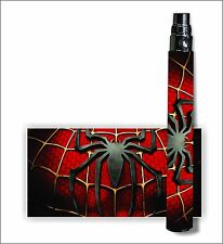 Battery Sticker Skins eGo Type/Other Cover Vapor Mod Wrap Glossy Vinyl SPIDERMAN