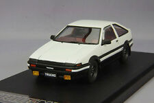 1/43 Mark43 Toyota Sprinter Trueno AE86 GT APEX Sports Wheel White PM4333WK