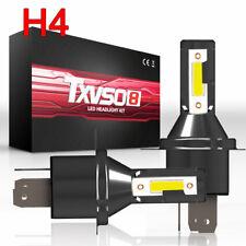 Pair 0f H4 LED Car Headlight Headlamp 26000LM 6000K 110W Conversion Bright Bulb