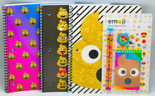 NEW ID Poop Emoji 5 Piece Stationery Set 3 70 Wide Ruled Sheet Notebooks School