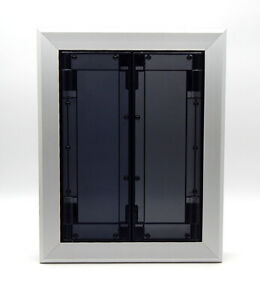 Heavy Duty Aluminum Swinging Saloon-Style Dog Door