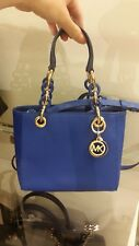 Brand new!Michael Kors MK Cynthia Extra Small Saffiano Leather Satchel Bag