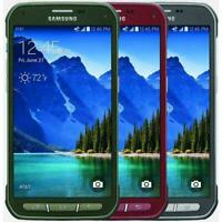 Samsung Galaxy S5 Active G870A GSM Unlocked 16GB Rugged Smartphone - All Colors