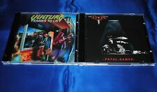 VULTURE - 2 CD Set - Fatal Games / Easier To Lie