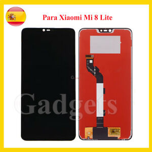 """Pantalla Completa LCD Para Xiaomi Mi 8 Lite Negro 6,26"""" Digitalizador Display"""
