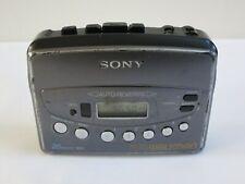 Sony Walkman Wm-Fx451 Fm/Am Radio Cassette Tape Player, No Belt Clip, Tested
