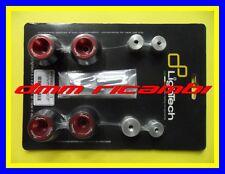 Tamponi Protezioni perni ruote LIGHTECH APRILIA RSV4 1000 SHIVER 750 DORSODURO