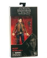 """Star Wars: The Black Series #62 Han Solo 6"""" Action Figure - New - MPR E1200"""