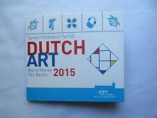 Coffret World Money Fair Berlin Euro 2015 / Holland Pays-Bas KMS / Dutch Film