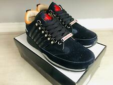 Dsquared2 251 Sneakers SNM0101 Leather Mens Trainers Black Blue UK10/EU44