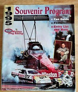NHRA Winston Drag Racing Souvenir Program 1995