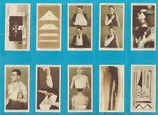 Stephen Mitchell cigarette cards - FIRST AID - Full set