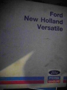 Ford New Holland Versatile Series 10 Tractors Service Repair Manual 2600-7700
