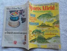 SPORTS AFIELD  Magazine-APRIL,1970-WILDERNESS FISHING ON A BUDGET