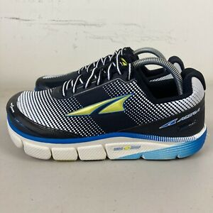 Altra Torin 2.5 Mens Running Shoes US 8.5 White Black Blue NEW