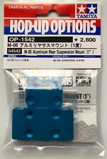 TAMIYA 54542 M-05 ALUMINIUM SUSPENSION ARRIÈRE Support (1°) (M05/m-05ra/M05 Pro)