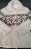 Vintage! TINGVOLL TRADITION AS Norway PURE NEW WOOL Lined JACKET sz M