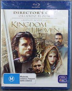 "KINGDOM OF HEAVEN (BLU-RAY, 2007) BRAND NEW / SEALED ""REGION B"""