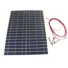 20 W 12 V Kit Caricabatteria-FAI DA TE GRIGLIA pieghevole pannello solare per Campeggio Trekking Portatile