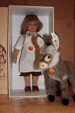 Steiff 703157 Puppen-Set Schneeweißchen und Rosenrot mit Bär selten Puppen