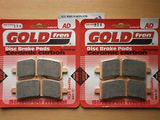 Ducati 1098 Sinterizadas Delanteras Pastillas De Freno (2 pares) * Goldfren *