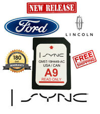 ford lincoln a9 sync sd card navigation latest 2018 2019 us canada map update