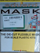 Eduard 1/48 EX672 Canopy Mask for the Avant Garde F-14D Super Tomcat kit