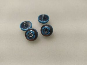 4 x Blue Hard Drive Mounting screws for HP PC HDD DC7800 DC7900 8000 8100 Z400