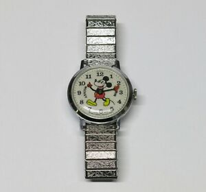 Running! Vintage 1970's Bradley Mickey Mouse Watch