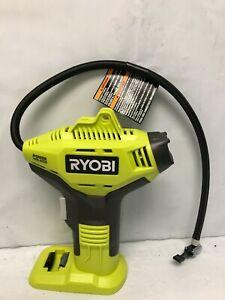 Ryobi P737D 18V Cordless Portable Air Compressor Tire Inflator Handheld, N