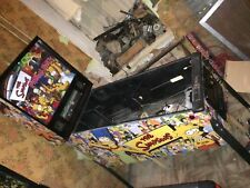 The Simpsons Pinball Party, pinball machine Cabinet Full Decal Set