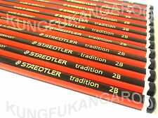 SALE - 2B x 12 STAEDTLER TRADITION GRADE PENCILS BOXED DRAWING JOINERY ART
