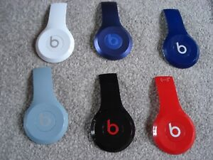 Beats Solo 2 Wired Headphones Side Panel-Black Blue Red White Grey Pink Purple..
