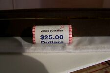JAMES BUCHANAN PRESIDENTIAL $1 DOLLAR BRASS COIN ROLL
