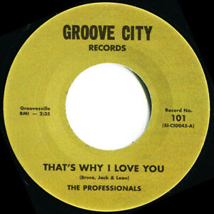 THE PROFFESIONALS  THATS WHY I LOVE YOU  Soul Northern Motown