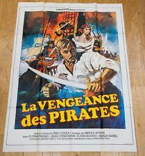 LA VENGEANCE DES PIRATES Affiche cinéma 120x160 DINU COCEA, FLORIN PIERSIC