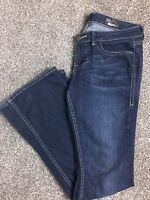 "WILLIAM RAST Women's Jeans Low Rise Flare FLAP POCKET Stretch Sz 29/33"" inseam"