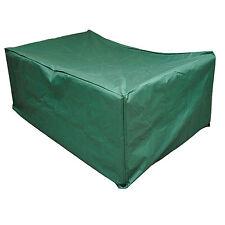 Copertura tavolo quadrato da giardino 125 x 125 telo in poliestere colore verde