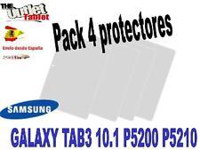 4 Protectores de pantalla Tablet Samsung Galaxy Tab3 GT-P5210 GT-P5200 tab 3