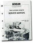 REPAIR SERVICE Manual K482 K532 K582 K662 KOHLER Engine ens-607