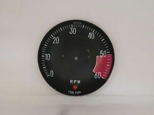 Tachometer Dial Face Plate Smiths Brand Fits Jensen Interceptor  RVC3811/00