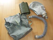 Gasmaske,ELEFANT Atemschutzmaske NEU super Zustand, Gummischlauch, Filter,Tasche