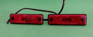OEM Genuine Toyota Camry Corolla Tercel  Rear Panel Side Marker Light Pair