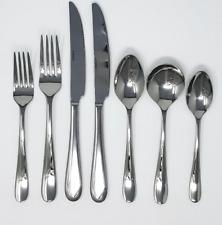 Oneida Edessa Mirror 88 Piece 18/10 Stainless Fine Flatware Set, Service for 12