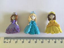 Pretty Princesses Novelty Sewing Buttons by Dress It Up Jesse James Buttons 7708