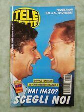 43) TELESETTE ITALIAN MAGAZINE N 40/1998 BONOLIS LAURENTI ELA WEBER DINO ZOFF
