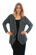 Formal Solid Plus Size Jumpers & Cardigans for Women