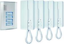 Türsprechanlage für 4-Familienhaus IB64 SW Smartwares Gegensprechanlage Klingel