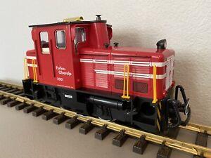 LGB 2061 :: Schoema Tractor Switzerland Diesel Locomotive w/ Lights G-Scale