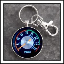 Vintage Ford Truck 58-67 Super Duty Tachometer Photo Keychain Fathers Day Gift